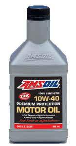 High Performance 10W-40 Motor Oil
